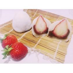 紅豆草莓大福